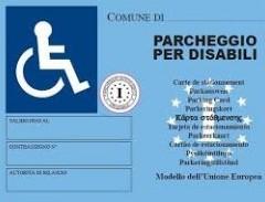 Contrassegno per le persone con disabilità