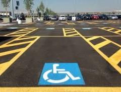 Parcheggio per persone disabili