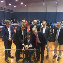 Inaugurato a Verona il nuovo Centro Federale Paralimpico per il Tennistavolo